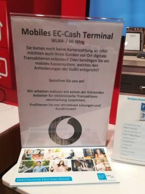 Mobiles EC Terminal & mobiles Kassensystem nach GODB