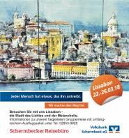 Schermbecker Reisebüro - Begleitete Gruppenreise: Lissabon